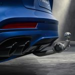 Electrically extending towbar system